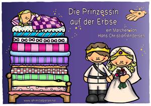 Prinzessin auf der erbse  Lehrmittel Perlen | Materialien für die Grundschule und Lehrer ...