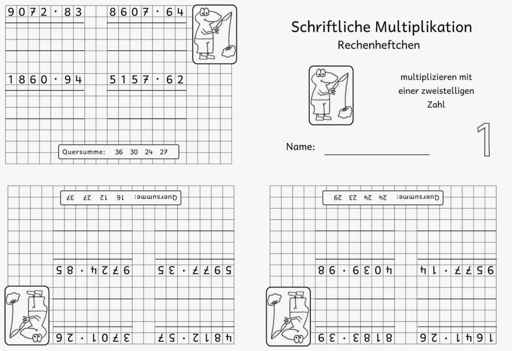 Erfreut Zwei Von Zweistelliger Multiplikation Arbeitsblatt Ideen ...