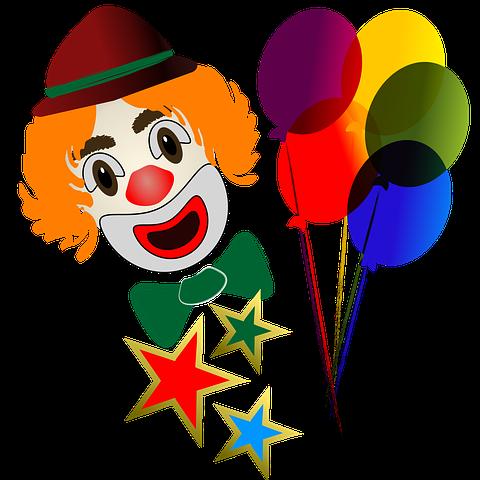 Fasching Fensterbild Clown Grundschule Und Basteln Der Blog Von