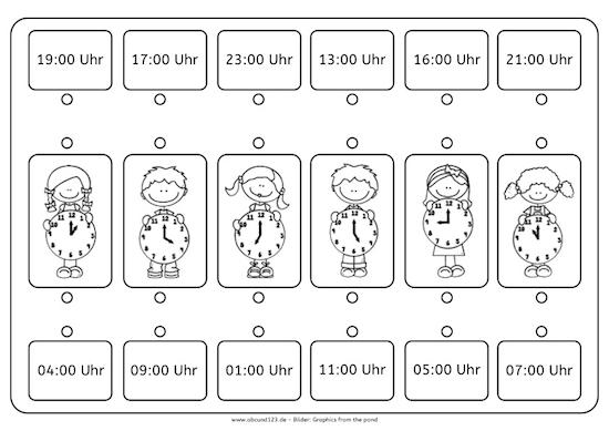 Kartei Uhrzeiten & Zeitspannen   Uhrzeit lernen, Uhrzeiten, Kartei