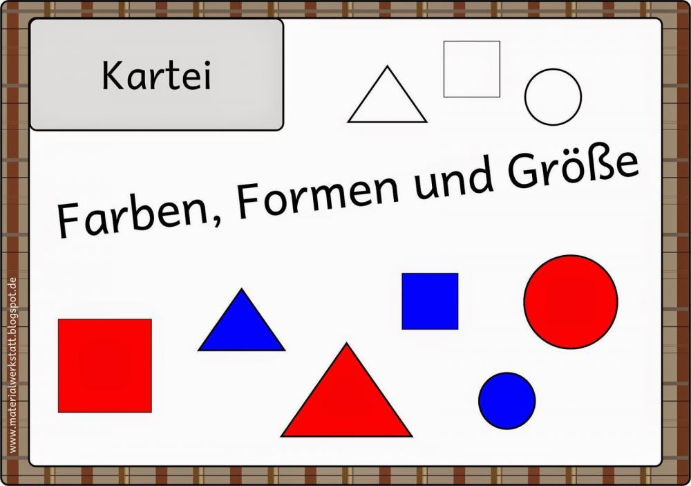 Arbeitsblatt Mathe Formen: Ab geometrische formen arbeitsbögen ...