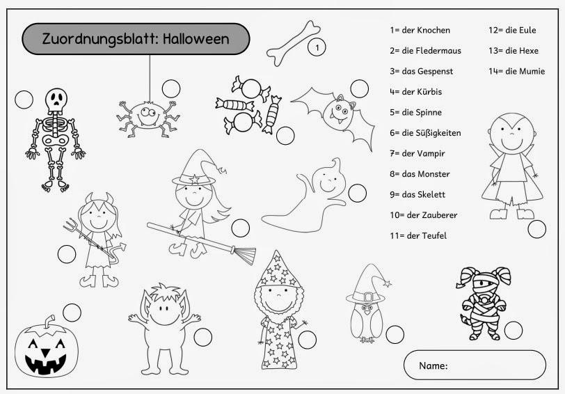 Niedlich Halloween Mathe Rätsel Bilder - Ideen färben - blsbooks.com
