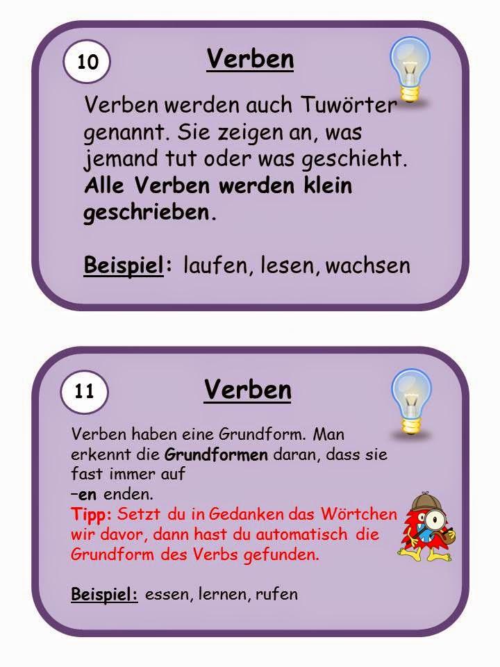 kostenlose plakate zur grammatik