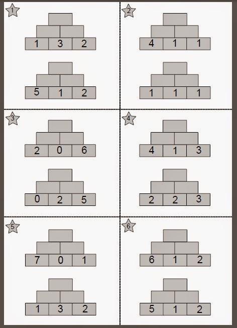 pyramiden rechnen 3 klasse